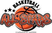 basketball stars team design