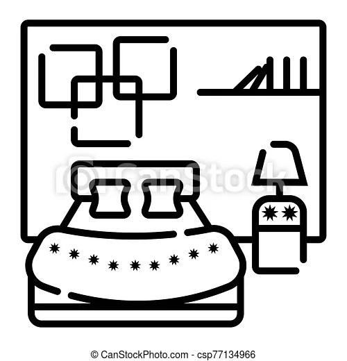 Bedroom Icon Vector