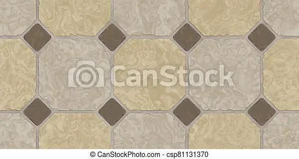 Beige Brown Seamless Classic Floor Tile Texture Simple Kitchen Toilet Or Bathroom Mosaic Tiles Background 3d Rendering 3d Canstock