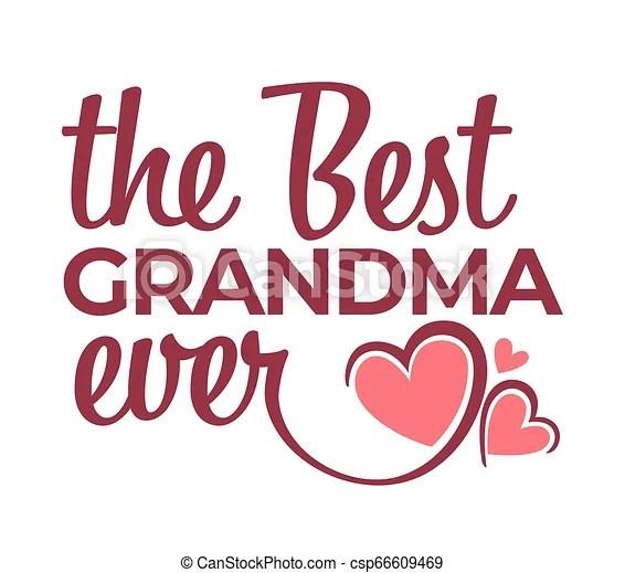 best grandma ever congratulation
