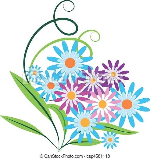 Image Clipart Bouquet De Fleurs