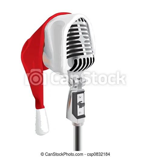 drawing of christmas song vector