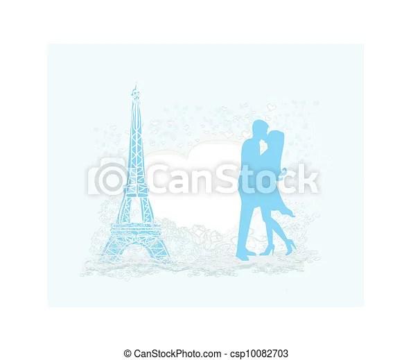 vector clipart of romantic couple