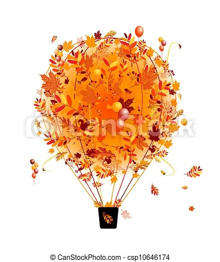 vectors illustration of autumn
