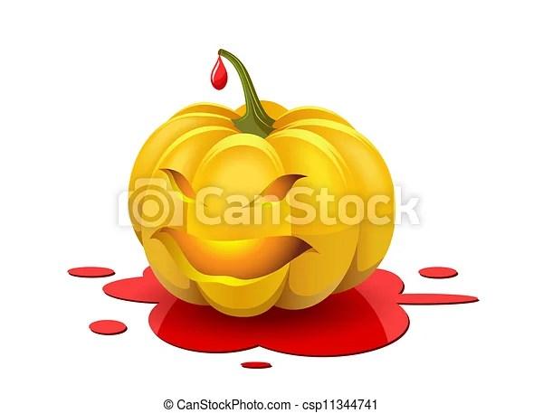 eps vector of angry halloween
