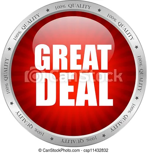 Vectors of Vector great deal - Great deal icon, vector illustration csp11432832 - Search Clip Art, Illustration, Drawings and Clipart EPS Vector ...