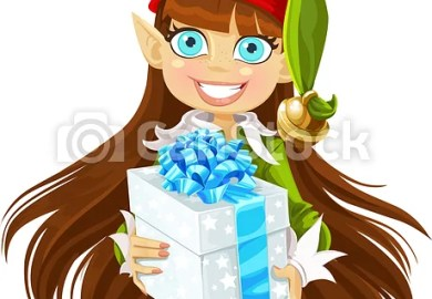 Christmas Elf Illustrations And Clipart Can Stock Photo