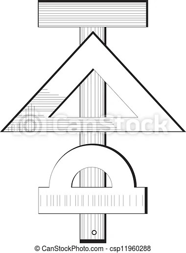 Vector of Measuring instruments engineering symbol