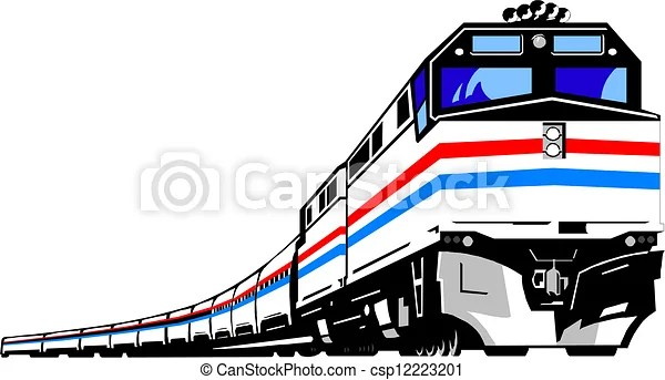 Vector Clipart of Train csp12223201 Search Clip Art