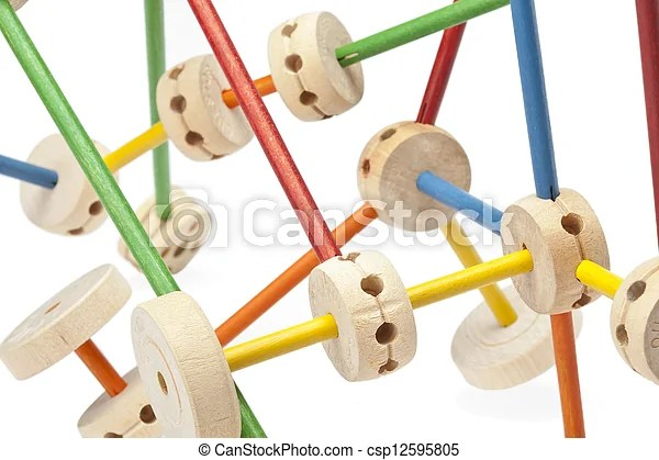 Stock Photography of set of assembled tinker toys - A set of assembled wooden... csp12595805 - Search Stock Photos, Pictures, Images, and Photo ...