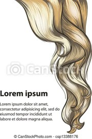 vectors illustration of hair style