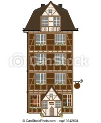 attic vector isolated cottage clipart clip illustration visit canstockphoto