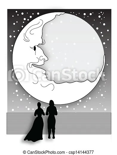 vectors illustration of romantic