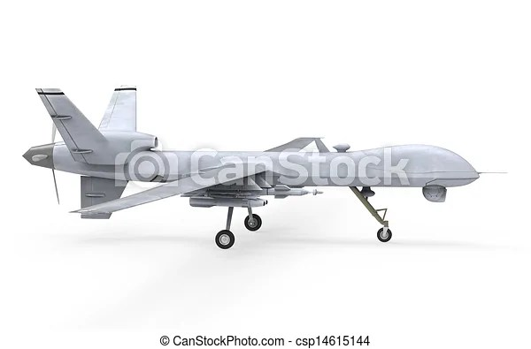 Cm Launcher 3d Wallpaper Download Drawing Of Military Predator Drone Isolated On White