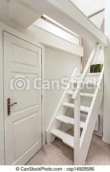 attic stairs mansion door wooden clip shutterstock