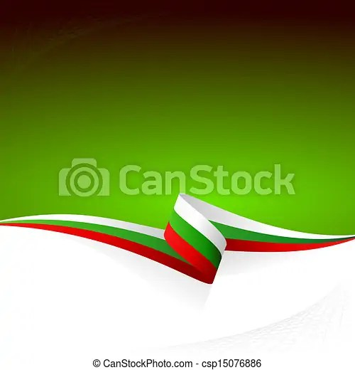 Vector of White green red Abstract color vector