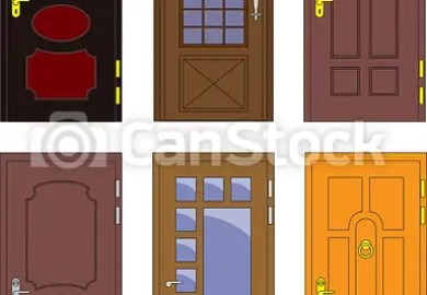 Front Door Vector Clipart And Illustrations Can Stock Photo