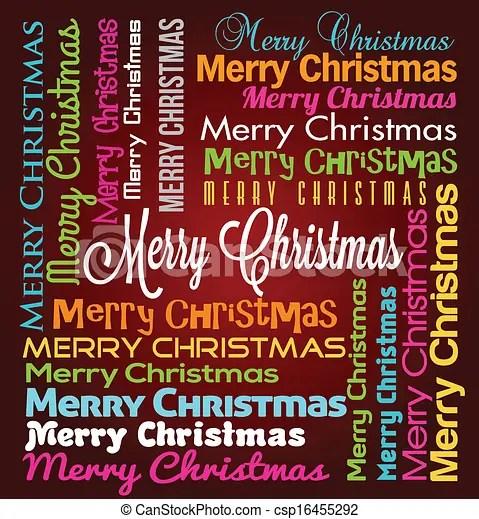 eps vectors of merry christmas
