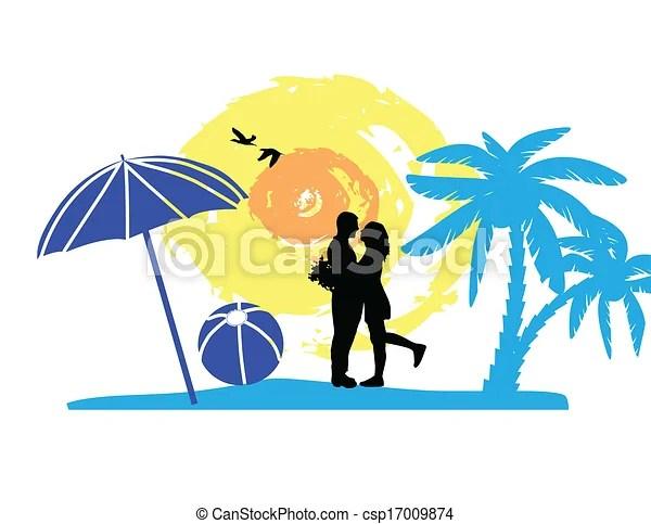 vectors illustration of romantic