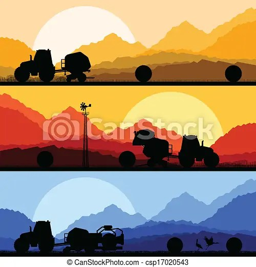 eps vector of agriculture tractors