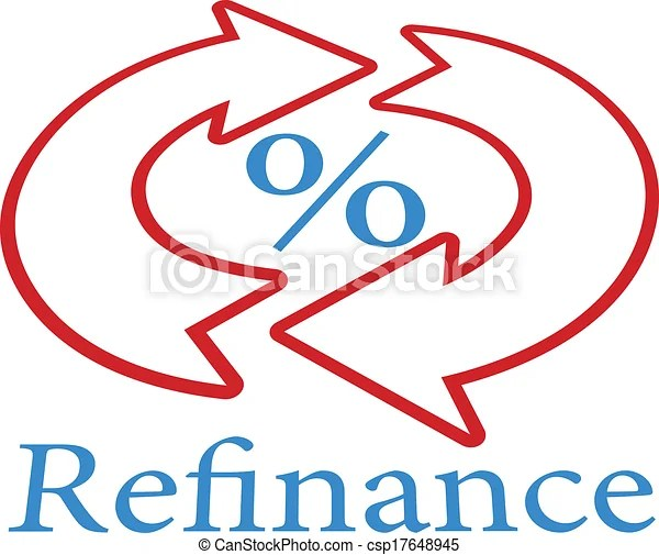 EPS Vector of Refinance home mortgage loan icon symbol - Refinance home... csp17648945 - Search Clip Art. Illustration. Drawings and Clipart ...