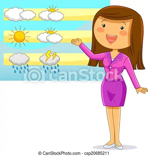 Image result for cartoon weather man