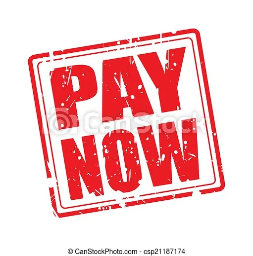 Vectors Illustration Of Pay Now Red Stamp Text On White