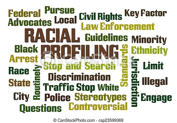 Stock Image of Racial Profiling word cloud on white background csp23599369 - Search Stock Photography, Photos, Pictures, and Photo Clip Art