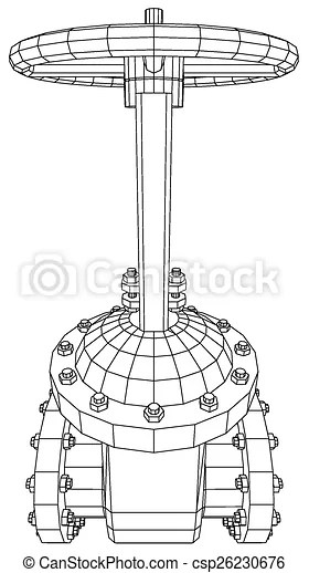 Vector Industrial Equipment Oil And Gas... EPS Clip Art
