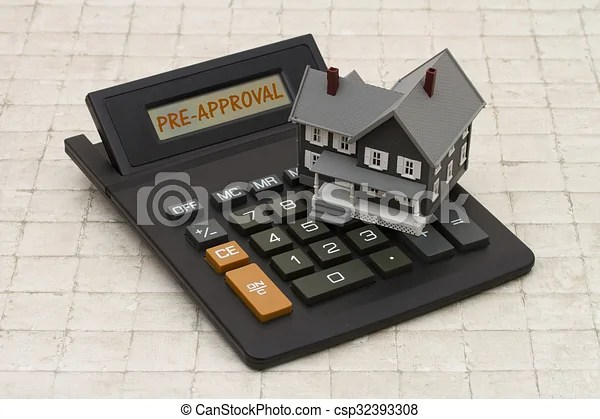 stock illustration of home mortgage