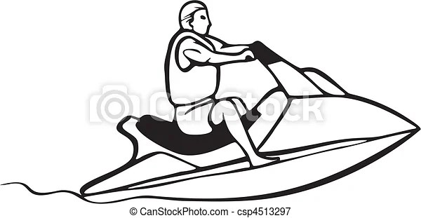 Vectors Illustration of auto and boat racing csp4513297