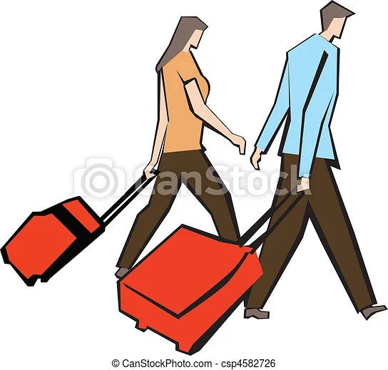 stock illustration of travel vacation