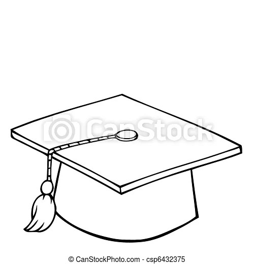 Graduation Cap Clip Cake Ideas and Designs
