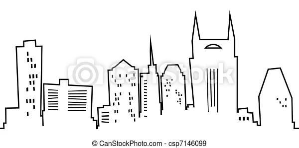 Related Keywords & Suggestions for nashville skyline clip art
