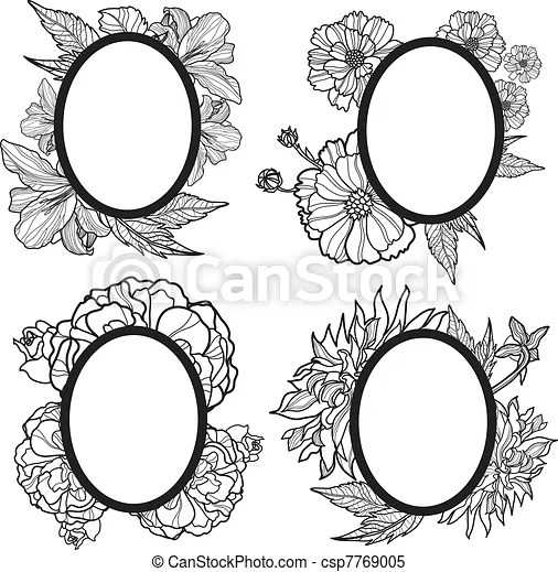 clipart vector of vintage