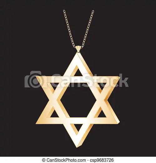 clip art vector of gold star