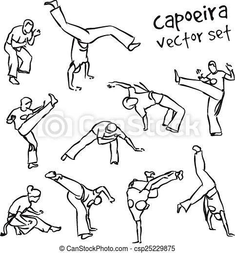 Capoeira set.