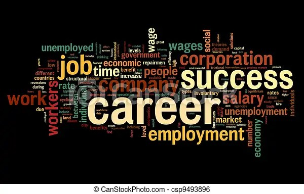 career concept in word