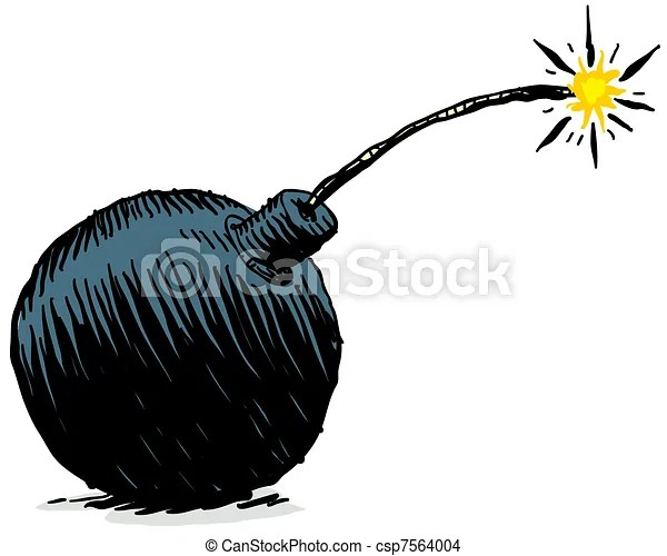 Fuse Box Cartoon Cartoon Bomb A Cartoon Bomb With A Lit Fuse
