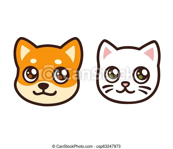 cartoon cat and dog