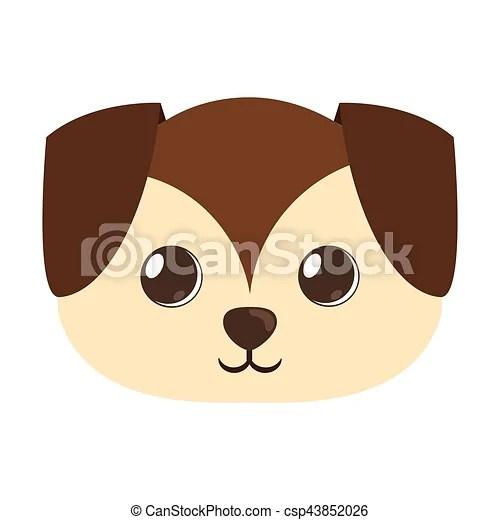 cartoon cute puppy dog