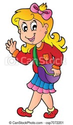 Girl walking Clipart Vector Graphics 32 603 Girl walking EPS clip art vector and stock illustrations available to search from thousands of royalty free illustrators