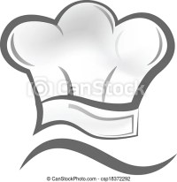 Chef hat logo. Vector of chef hat icon symbol.