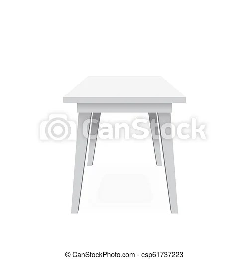 chair without back kitchen chairs wooden black classic white vector illustration