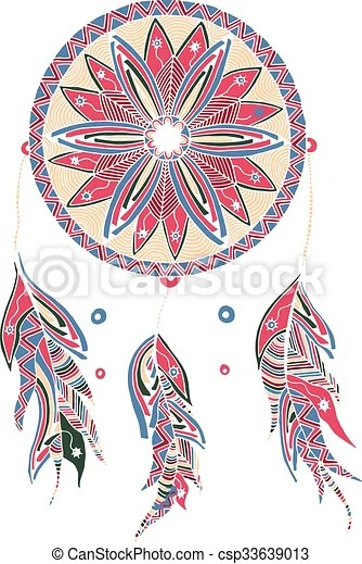 color dream catcher with