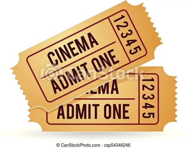 color icon cinema ticket