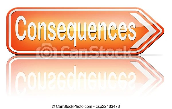 Consequences facing facts and accept consequence of acts take and face responsibilities.