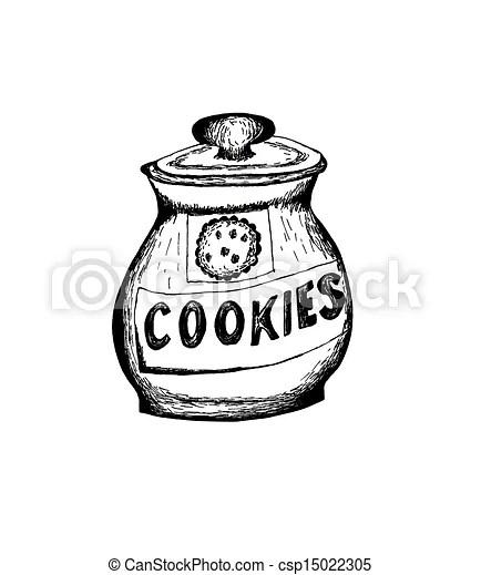 cookie jar sketch