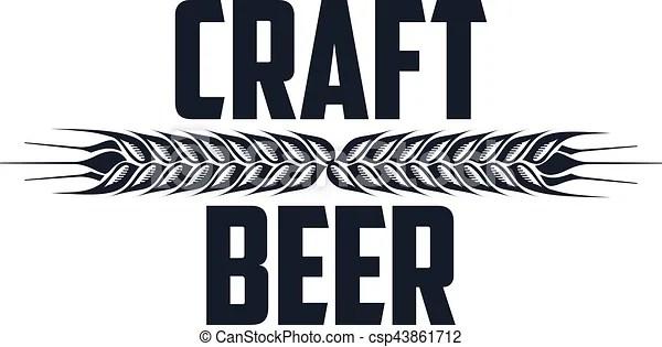 Craft Beer Logo Vector Set Of Vintage Craft Beer Alcohol Ale Brewery Bar Shop Emblems And Label Branding Identity