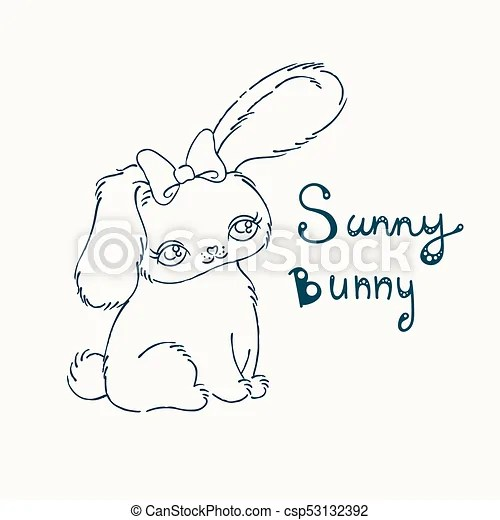 cute bunny for baby